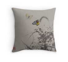 Butterfly v2 Throw Pillow