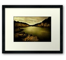 the gift Framed Print