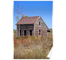 Old Farm Workers (Tenant House) Poster