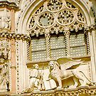 Saint Mark Lion by Maria White
