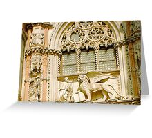 Saint Mark Lion Greeting Card