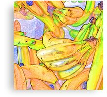 bananas Canvas Print