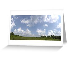 HDR Composite - Overgrowth in Nature Preserve Greeting Card