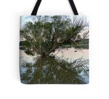 From Paddock to Lake Overnight! - Gore Flooding - Southland Tote Bag