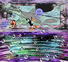 Daffy & Taz by Greta  McLaughlin