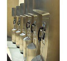 Telephone Bank Photographic Print