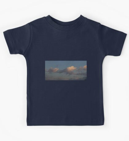 HDR Composite - Pastel Clouds at Sunset Kids Tee