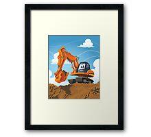Digger Framed Print