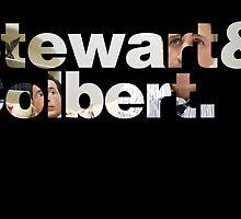 Stewart&Colbert. by IvyAndBeau