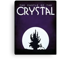 The Castle of the Crystal Canvas Print