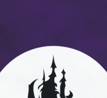 The Castle of the Crystal Sticker