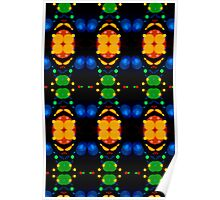 Christmas lights boogie woogie Poster