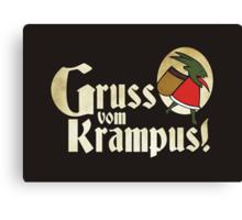 Gruss vom Krampus! Canvas Print
