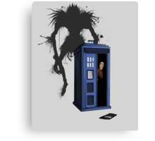 The doctor's new Moment - Dark Canvas Print