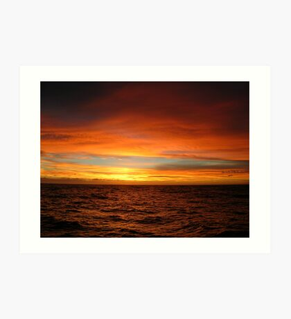 Southern Pacific Sky Art Print
