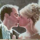 wedding portrait commission by alan  sloey