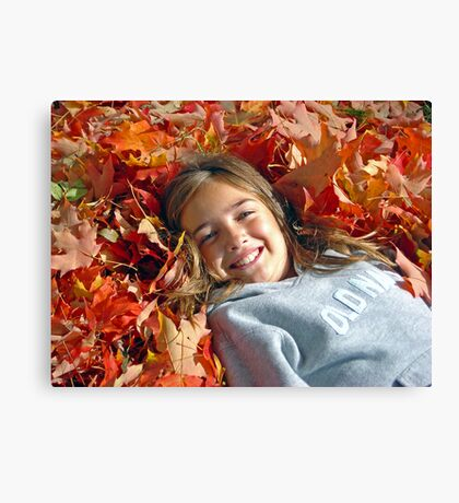 Autumn Princess Canvas Print