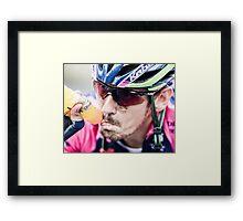 Filippo Pozzato (Lampre-Merida) Framed Print