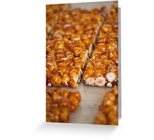 crunchy hazelnuts Greeting Card