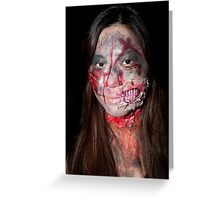 Zombie 48 Greeting Card