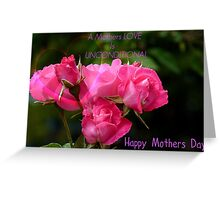 A Mothers Love Is Unconditional - Mothers Day Card - NZ Greeting Card