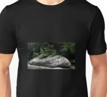HDR Composite - Rock Island in River Rapids Unisex T-Shirt