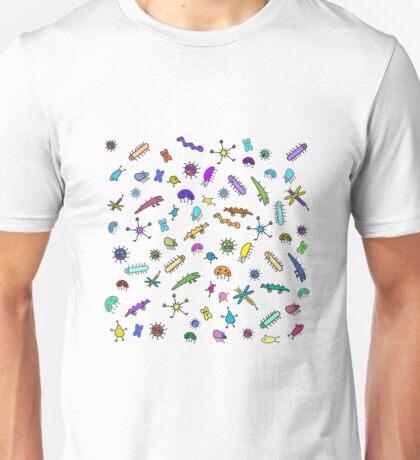 Mini bugs and mini beasts Unisex T-Shirt