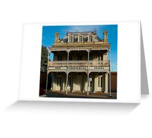 Imperial Hotel, Castlemaine, Victoria Greeting Card