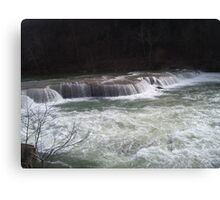 valley falls 2 Canvas Print