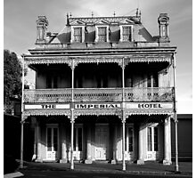 Imperial Hotel BW Photographic Print