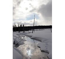 Reflections of Yellowstone Photographic Print
