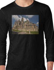 Bayeux Cathedral, France, Europe 2012 Long Sleeve T-Shirt