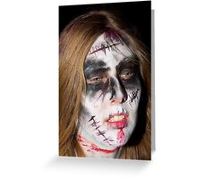 Zombie 44 Greeting Card