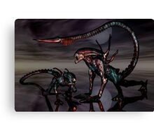 Creatures of The Dark Night Canvas Print