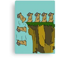 Rodent Death  Canvas Print