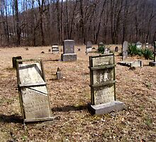 pricketts fort , civil war  graveyard by melynda blosser