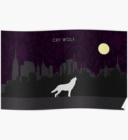 Cry Wolf Concept Poster