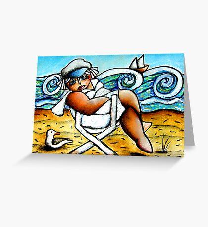 Ship Ahoy! Greeting Card