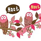Hoot Hoot by Lydia Meiying