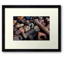 Nuts & Bolts Framed Print