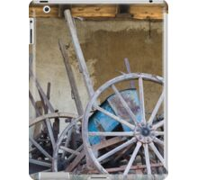 old barn and tools iPad Case/Skin