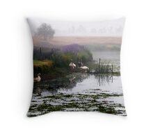 Life On The Pond Throw Pillow