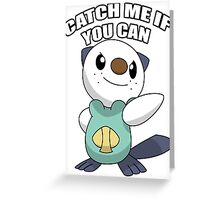 try to get this pokemon Greeting Card