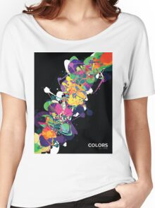 Mixed Media Colors 1 Women's Relaxed Fit T-Shirt