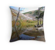 St. Mary's Glacier Throw Pillow