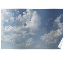 HDR Composite - Sky and Clouds Poster
