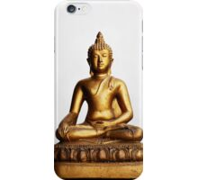 Sitting Buddha iPhone Case/Skin