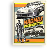 Mad Max V8 Interceptor Canvas Print