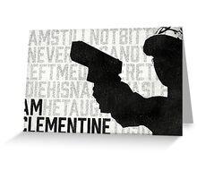 TWDG I Am Clementine Greeting Card