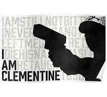 TWDG I Am Clementine Poster